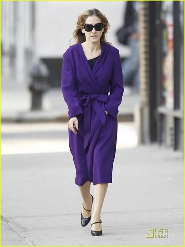 Sarah Jessica Parker: Pretty in Purple