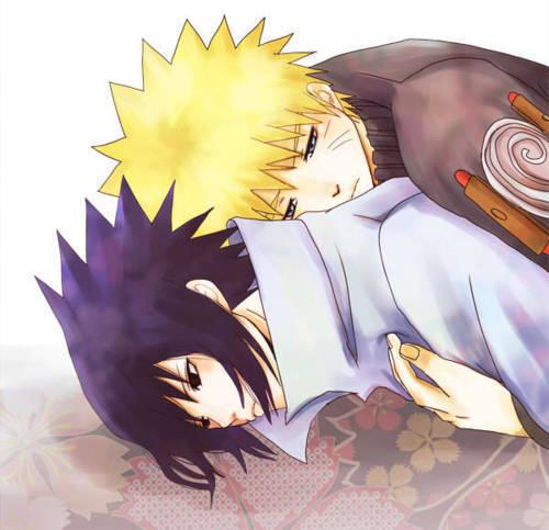 Sasuke and नारूटो