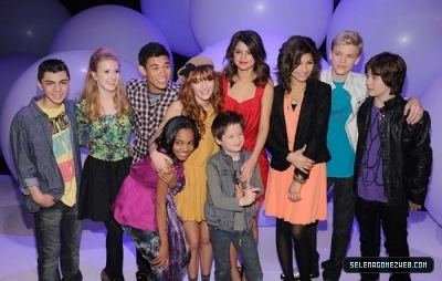 Selena Gomez & The Shake It Up Cast at Disney Kids & Family Upfront