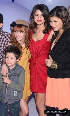 Selena Gomez & The Shake It Up Cast at Disney Kids & Family Upfront