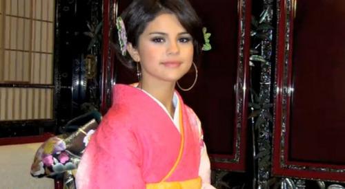 Selena Gomez in Japan