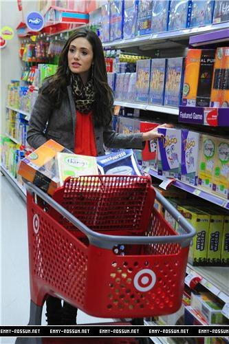 Shopping at Target - December 27