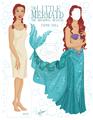 Sierra/Ariel paper doll