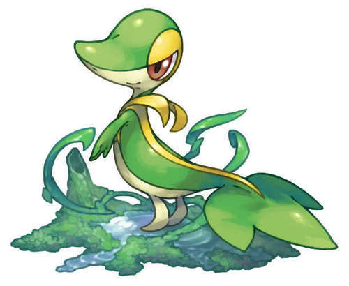 pokemon wallpaper with anime entitled Snivy