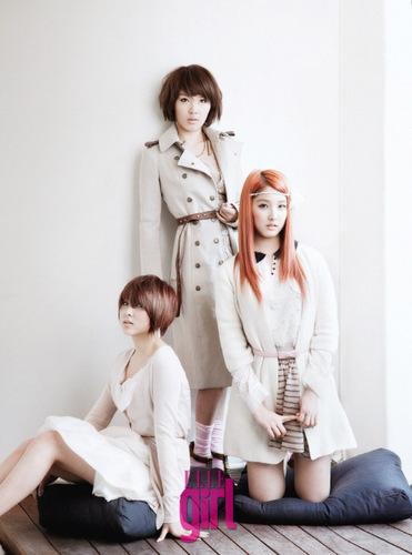 Sohyun, Jiyoon & Jihyun For Elle Girl 2011