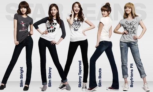 Spao - Sooyoung, Seohyun, Yoona, Jessica & Hyoyeon