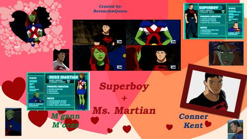 SuperboyxMegan প্রণয়