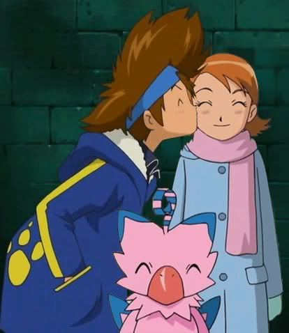 Tai & Sora 키스