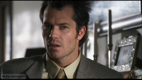 Timothy Olyphant پیپر وال probably containing a business suit titled The Girl اگلے Door