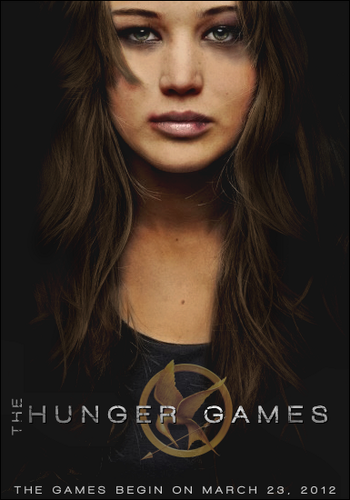 The Hunger Games (FanMade Movie Poster) - jennifer-lawrence Fan Art