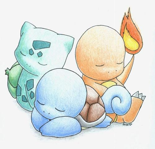 The Three Original Starters