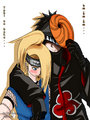 Tobi, ure too close - deidara-x-tobi photo