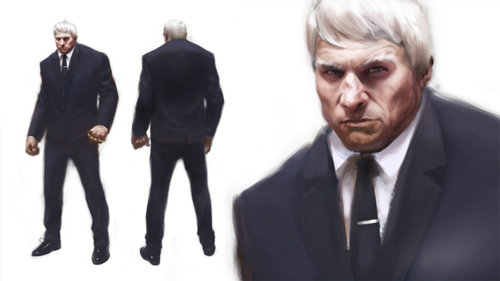 Mirror's Edge wallpaper containing a business suit, a suit, and a two piece entitled Travis Burfield Concept