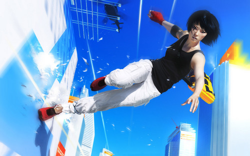 Mirror's Edge wallpaper called Wallrun