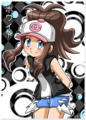 White - pokemon-black-and-white fan art