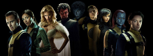 X-Men: First Class (2011): Promo photoshoot