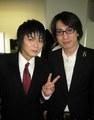 Yusa Kouji and Hiroki Yasumoto