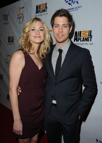 Yvonne Strahovski & Tim Loden @ the 2011 Genesis Awards