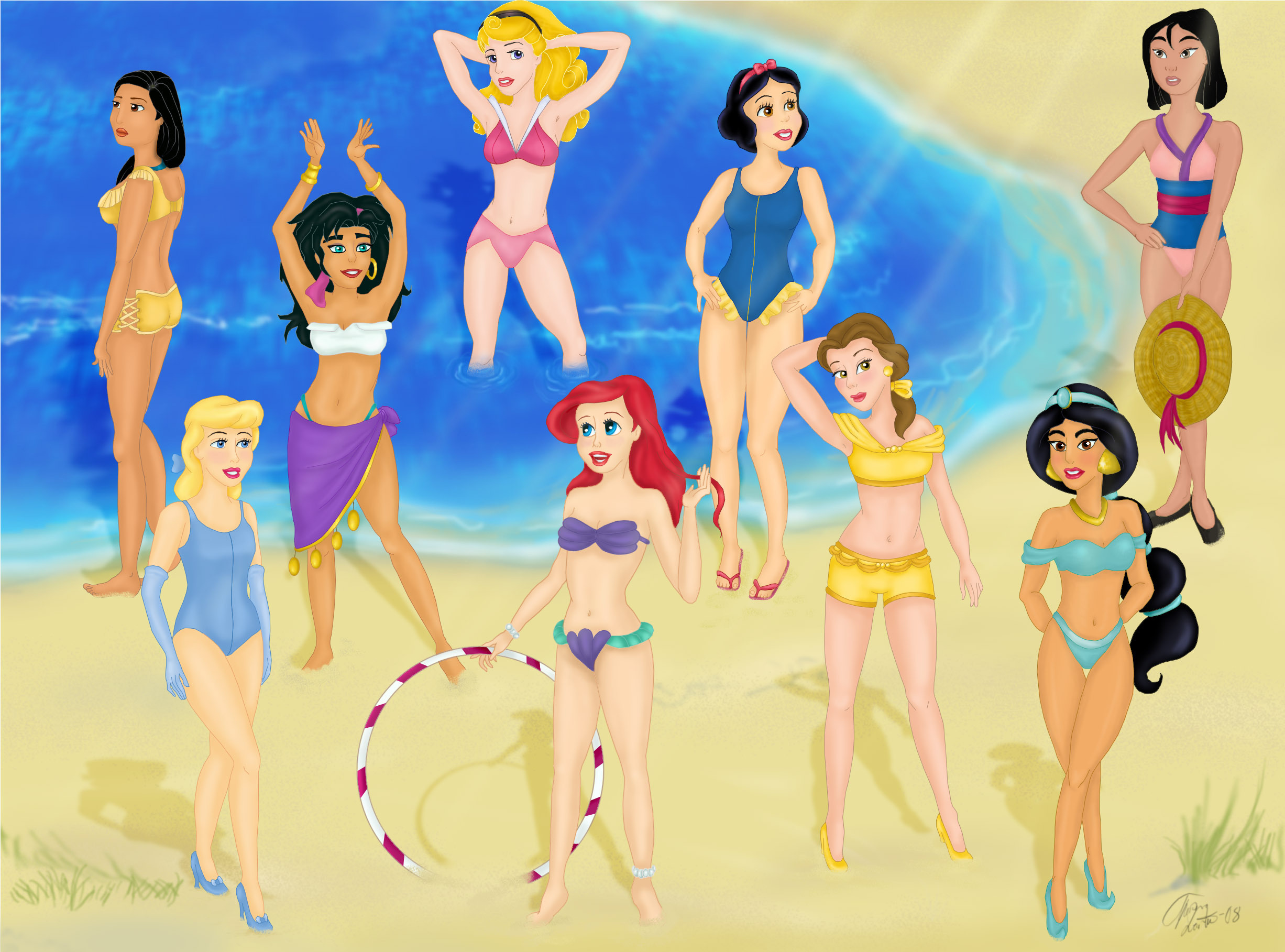 Disney Princess disney princess swimsuits