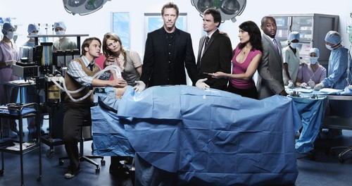 House MD Cast kertas dinding
