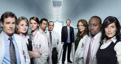 House fond d'écran entitled House MD Cast fond d'écran