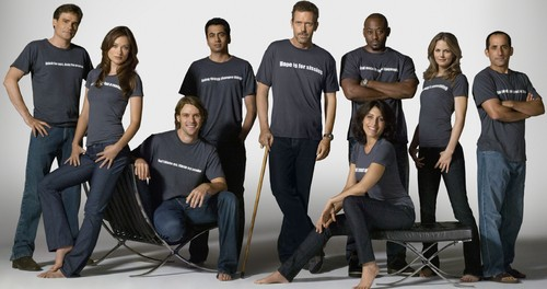 House M.D. wallpaper titled House MD Cast Wallpaper