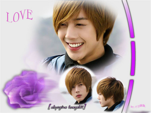 Kim Hyun Joong wallpaper containing a portrait called hyun joong