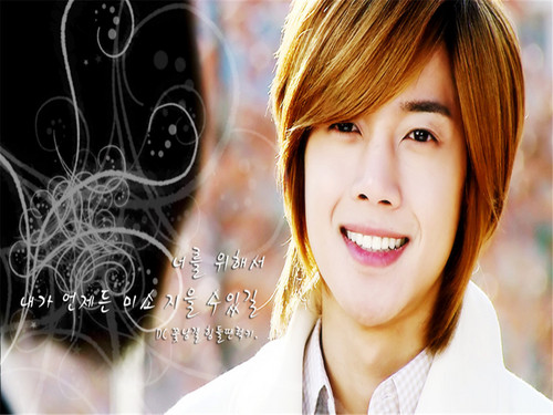 Kim Hyun Joong wallpaper with a portrait entitled hyun joong