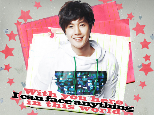 Kim Hyun Joong wallpaper possibly with a sign titled hyun joong