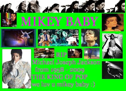 mikey baby the king of pop