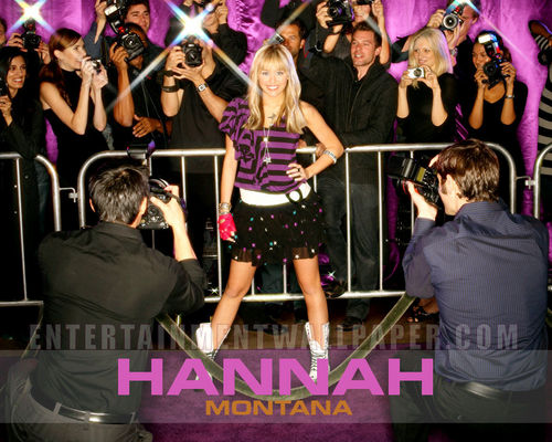 miley hannah - miley-cyrus-and-hannah-montana-lovers Wallpaper