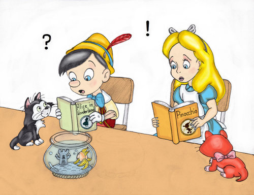 pinocchio and alice