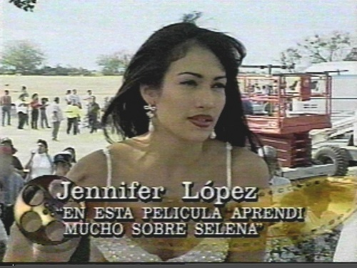 Selena (the movie) fond d'écran probably with a sign and a portrait entitled selena