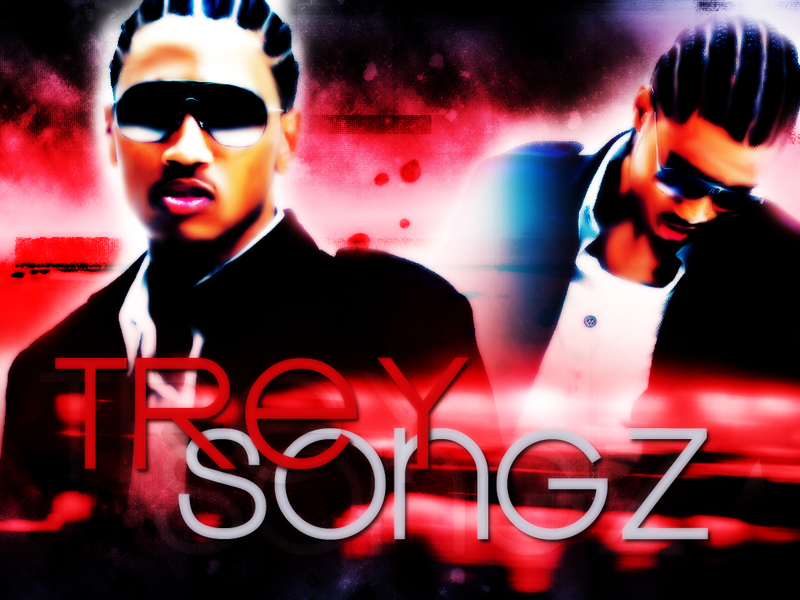 trey songz wallpaper for desktop. hair tattoo Trey Songz Gallery
