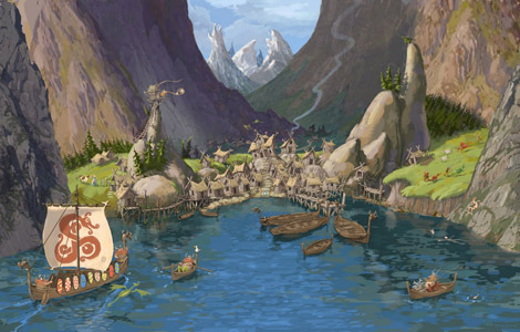 village of berk