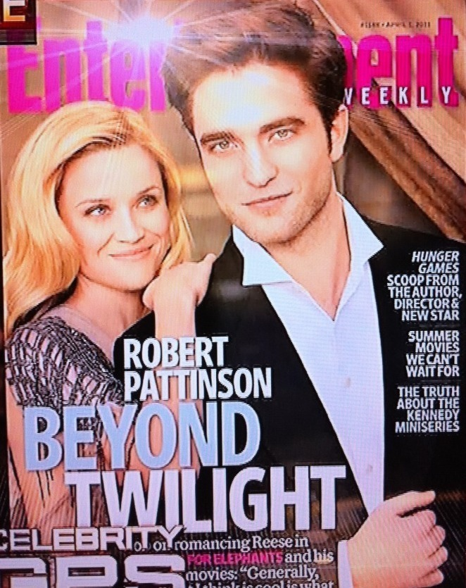 """Robert Pattinson & Reese Witherspoon - """"Entertainment Weekly"""""""