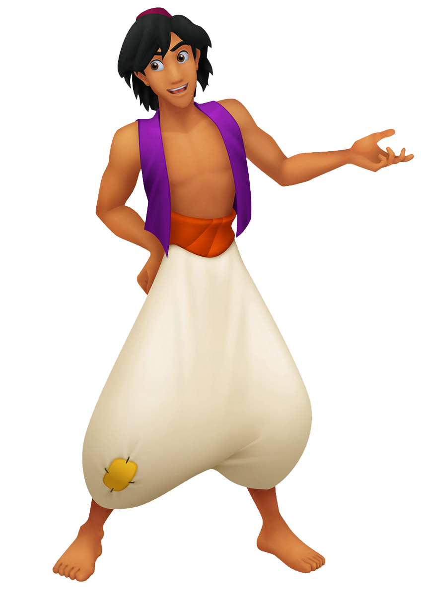Aladdin in Kingdom Hearts - Walt Disney Characters Photo ...
