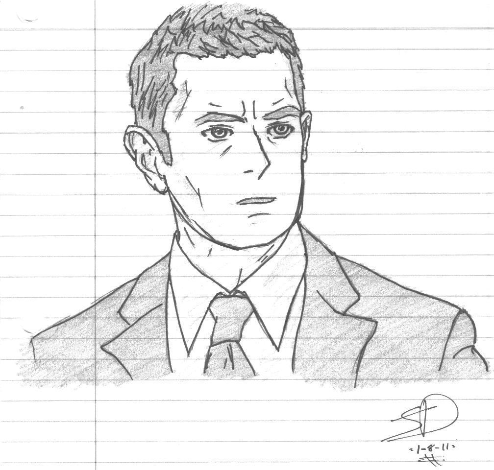 Detective carlton lassiter images anime lassiter drawings for Good sketches to draw