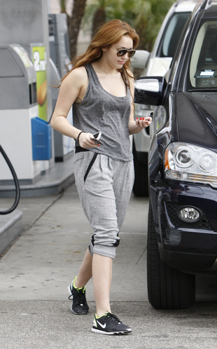 At a Gas Station in West Hollywood [24th March 2011]