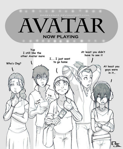Avatar: The Last Airbender wallpaper containing anime called Avatar fan art - deviant art artists