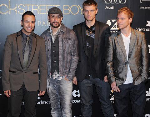 Backstreet Boys- VIP party Hanoi 3/25