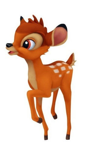 Bambi in Kingdom Hearts