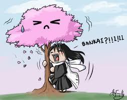 Bleach: Byakuya FUNNY!