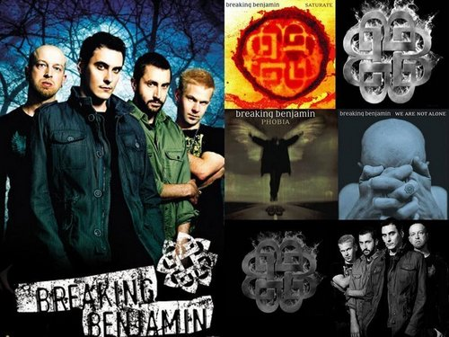 Breaking Benjamin wallpaper with anime titled Breaking Benjamin
