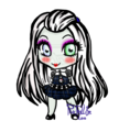 Chibi Frankie - monster-high-frankie-stein fan art
