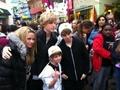 Christian w/ MattyB, Alli,& Cody Simpson