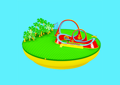 कोबरा Coaster Island