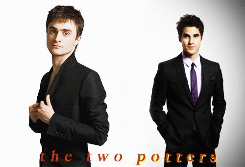 Daniel Radcliffe and Darren Criss