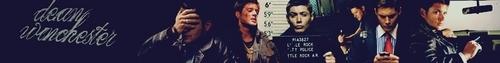 Dean Winchester Banner