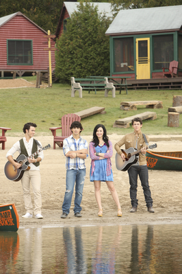 Demi Lovato wallpaper entitled Demi camp rock 2 official photoshot!